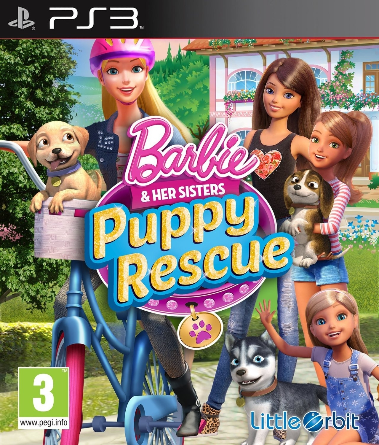 Barbie and Her Sisters: Puppy Rescue (PS3)